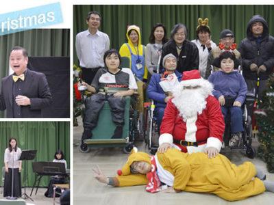 12月 29年度のクリスマス会を行いました。