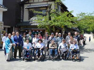 30年度の日帰り小旅行は、京都太秦映画村♪
