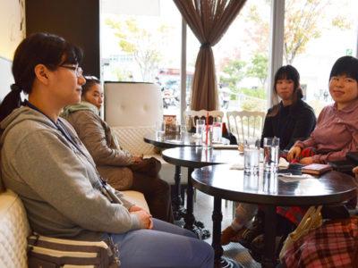 11月の美会はスイーツを食べに松井山手までお出かけをしました!